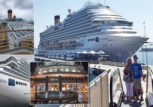 Jak to vypadá na výletní lodi?