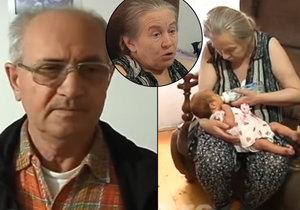 Atifa Ljijac porodila v 60 letech své první dítě. Jakmile ho její partner poprvé uslyšel plakat, ženu i s dcerou opustil.