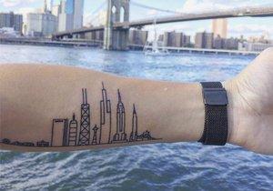 Tetování inspirovaná architekturou a designem