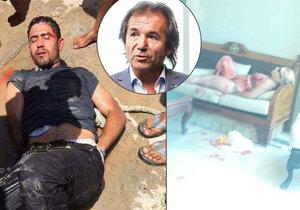 Terorista na pláži? Zalehněte, utíkejte, braňte se, radí Andor Šándor po útoku v Egyptě.