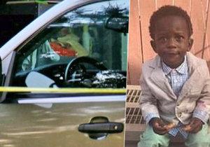 Khayden (†1) zahynul v rozpáleném autě (ilustrační foto). Vlezl si tam sám při hře s kamarády.