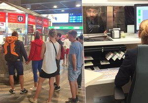 Na hlavním nádraží v Praze otevřeli další infocentrum.