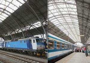 Práce na hlavním nádraží finišují. Skleněnou střechou je opět vidět nebe
