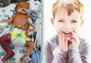 Malý bojovník Ari (†5) zemřel: Překonal tři operace srdce, transplantaci i kóma!