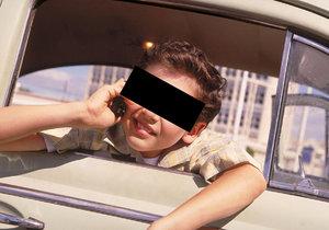 10letého kluka zatkla policie, ukradl 4 auta během 6 týdnů (ilustrační foto).