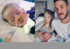 Rodiče smrtelně nemocného dítěte vzdávají boj za léčbu. Charlie Gard zemře.