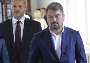 Marek Dalík u Vrchního soudu (25.7.2017). Kauza pandurů se vrátila k soudu poté, co zasáhl Nejvyšší soud.