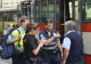 Napadený řidič autobusu