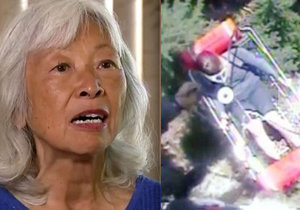 Ztracená vdova bloudila v lese 6 dnů: Živila se mravenci. Zázrakem přežila