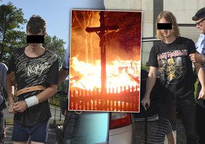 Kluci obvinění ze založení požáru vzácného kostela v Třinci u soudu