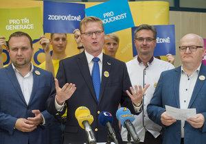 Lidovci představili priority do podzimních voleb poté, co krachla koalice se STAN.