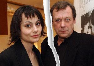 Oldřich Vízner a Vendulka Křížová se rozešli.