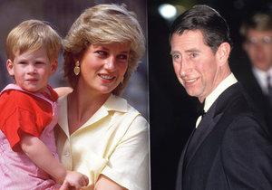 Čím princ Charles zlomil Dianě srdce? Jejich vztah zemřel na křtinách Harryho.