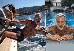 Italský playboy a milionář se vždy vytahoval bohatstvím.
