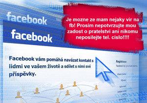Zloději masivně řádí na Facebooku.
