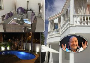 Michal David si pořídil vilu ve Španělsku.