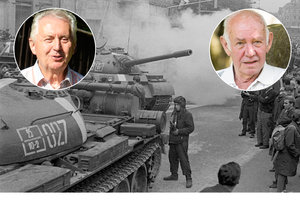 Ruské tanky v ulicích: Lidé je zkoušeli podpálit, všude se střílelo, vzpomínají pamětníci