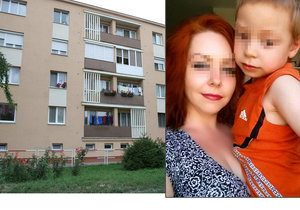 Adriánek (3) vypadl z okna, když jeho máma usnula.
