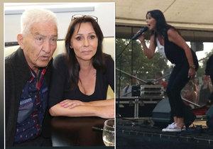 Heidi Janků poprvé od smrti manžela zazpívala na veřejnosti.