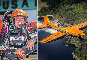 Marek Hyka patří k našim nejlepším leteckým akrobatům.
