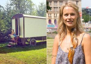 Helena Houdová strávila šest dní v maringotce!