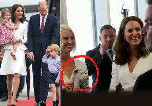 Třetí těhotenství vévodkyně Kate prozradil plyšák.