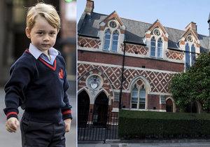 Co ve škole čeká prince George (4)? Šerm, balet i luxusní biojídelna.