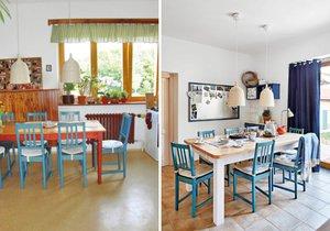 Rekonstrukce změnila kuchyni k nepoznání