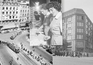 Noblesní obchody na Václaváku »zatratil« komunismus: Nahradil je Dům módy