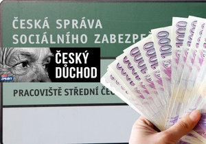 Rozhodování ČSSZ o výši důchodu.