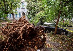 Nejméně pět mrtvých a 30 zraněných si vyžádala prudká bouře, která udeřila na západě Rumunska.