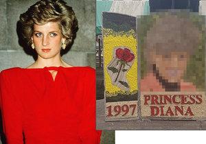 (Zne)uctili památku princezny Diany! Její nelichotivý portrét je hitem internetu.