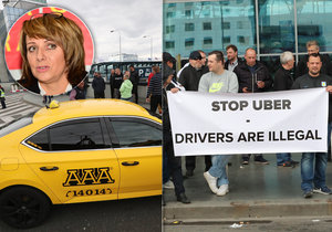 Taxikáři dali primátorce Adrianě Krnáčové ultimátum.