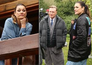 Až po dotočení se zjistilo, že scény se Šeredovou měly špatný zvuk. Alenu namluvila Anna Remková, manželka Ondřeje Brouska.