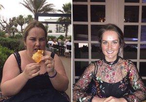 Byla nešťastná kvůli své váze a nechtěla se vdávat. Nakonec zhubla 60 kilogramů!