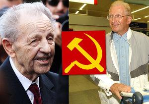 Platforma evropské paměti podala žalobu na komunistické pohlaváry Milouše Jakeše, Lubomíra Štrougala a Petera Colotku.