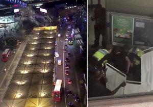 Útok v obchodním centru v Londýně má nejspíš na svědomí 15letý chlapec.