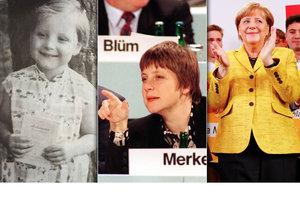 Merkelová lovila hlasy voličů i jako tříletá, v čele vlády je dlouhých 12 let