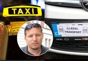 Taxikář Lukáš Pelikán se rozpovídal o současném stavu na silnicích v Praze.