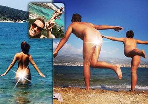 Pár z Belgie si nedělá hlavu s módou. Po světě cestuje bez šatů!
