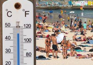 Australská města se musí připravit na vedra kolem 50 °C. Přijdou prý v roce 2040.