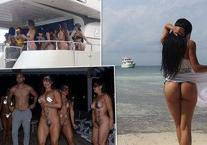 Ostrov nedaleko Kolumbie nabízí drogy a prostitutky.