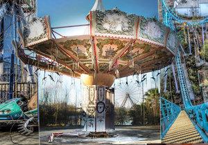 Opuštěný zábavní park v New Orleans