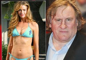 Hvězdný Gérard Depardieu: Rande v Brdech s Bond girl Denise!