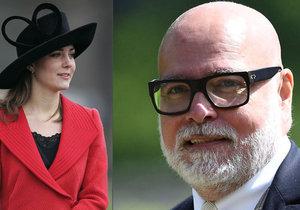 Vévodkyně Kate a její strýc Gary Goldsmith