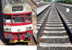 Drama na kolejích: Muž zachránil v Plzni život holčičce (6), kterou zachytil vlak
