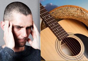 Muž nemohl v noci spát kvůli halucinacím country hudby, po třech měsících spáchal sebevraždu.