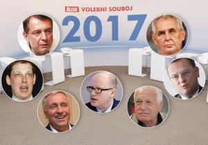 Souboj sedmi adeptů na nového premiéra: Vydrží déle než Gross, Paroubek a Nečas?