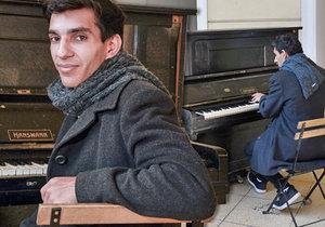 Robert Ferenc sehrál souboj s těžkým osudem, přesto je čtvrtý nejlepší pianista v republice.