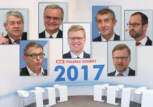 Vzkazy voličům před volbami: 60 sekund pro lídry stran v Superdebatě Blesk.cz